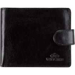 Portfel 21-1-120-1. Czarne portfele męskie Wittchen. Za 329,00 zł.