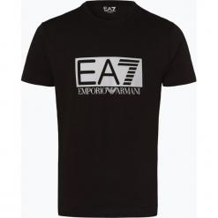 EA7 Emporio Armani - T-shirt męski, czarny. Niebieskie t-shirty męskie z nadrukiem marki OLYMP SIGNATURE, m. Za 279,95 zł.