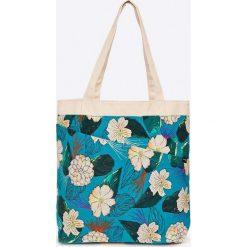 Dakine - Torebka dwustronna. Szare torebki klasyczne damskie Dakine, z bawełny, duże. W wyprzedaży za 99,90 zł.