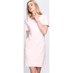 Sukienki: Różowa Sukienka Cashew