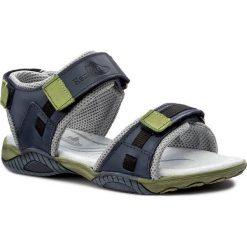 Sandały RENBUT - 31-4168 Jeans. Niebieskie sandały męskie skórzane marki RenBut. W wyprzedaży za 139,00 zł.