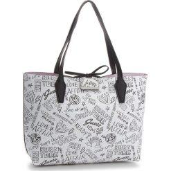 Torebka GUESS - HWGF64 22150  GFR. Białe torebki klasyczne damskie marki Guess, z aplikacjami, ze skóry ekologicznej, duże. Za 599,00 zł.