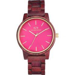 Zegarek Giacomo Design Drewniany damski GD08202. Różowe zegarki damskie Giacomo Design. Za 385,00 zł.