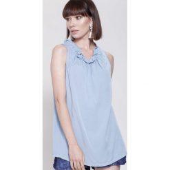 Bluzki damskie: Niebieska Bluzka Soft Things