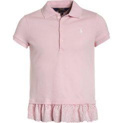 Polo Ralph Lauren EYELET  Koszulka polo hint of pink. Niebieskie bluzki dziewczęce bawełniane marki Adidas, z kontrastowym kołnierzykiem, z krótkim rękawem. Za 249,00 zł.