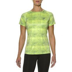 Asics Koszulka Pistachio Steam Print zielona r. S (130318 0190). Zielone topy sportowe damskie Asics, s. Za 69,00 zł.