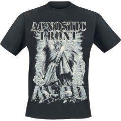 Agnostic Front Liberty T-Shirt czarny. Czarne t-shirty męskie Agnostic Front, s, z nadrukiem, z okrągłym kołnierzem. Za 74,90 zł.
