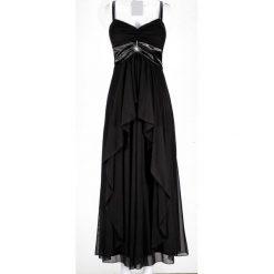 Długie sukienki: Długa sukienka bonprix czarny