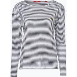 T-shirty damskie: s.Oliver Casual – Damska koszulka z długim rękawem, czarny