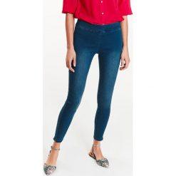 Spodnie damskie: SPODNIE DAMSKIE DENIMOWE