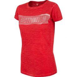 4f Koszulka damska H4L18-TSD018 czerwona r. M. Czerwone bluzki damskie 4f, l. Za 48,98 zł.