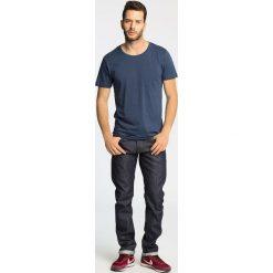 Jack & Jones Vintage - Jeansy Tim Vintage. Niebieskie jeansy męskie slim Jack & Jones Vintage, z bawełny. W wyprzedaży za 199,90 zł.