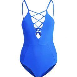 Stroje jednoczęściowe: O'Neill LINE SMOOTH SWIMSUIT Kostium kąpielowy neon dark blue