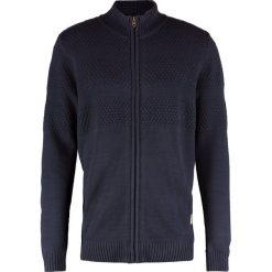 Swetry męskie: Jack & Jones JJVDUBERRY ZIP Kardigan navy blazer