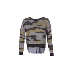 Swetry Only  ONLSANDIE. Szare swetry klasyczne damskie marki ONLY, s, z bawełny, casualowe, z okrągłym kołnierzem. Za 179,00 zł.