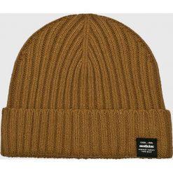 Medicine - Czapka Secret Garden. Brązowe czapki zimowe męskie MEDICINE, z bawełny. W wyprzedaży za 39,90 zł.