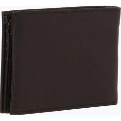 Bugatti - Portfel męski ze skóry, czarny. Czarne portfele męskie marki Bugatti, ze skóry. Za 199,95 zł.