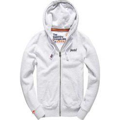 Bluza z zapięciem na suwak i kapturem Orange Label Ziphood. Pomarańczowe bluzy męskie rozpinane marki Superdry, l, z bawełny, z kapturem. Za 457,80 zł.