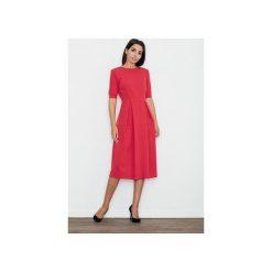 Sukienki: Sukienka M553 Czerwony
