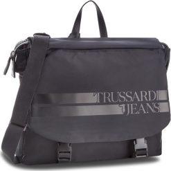 Torba na laptopa TRUSSARDI JEANS - Turati Brief 71B00091 K299. Czarne torby na laptopa marki Trussardi Jeans, z jeansu. Za 549,00 zł.