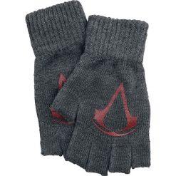 Rękawiczki męskie: Assassin's Creed Red Logo Rękawiczki bez palców odcienie szarego/czerwony