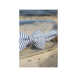 Mucha Blue White. Białe muchy męskie Edyta kleist, w paski, z bawełny, eleganckie. Za 99,00 zł.