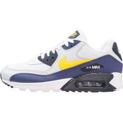 Trampki męskie: Nike Sportswear AIR MAX 90 ESSENTIAL Tenisówki i Trampki white/tour yellow/blue recall