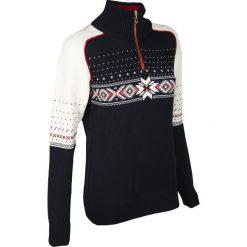 Sweter DALE OF NORWAY KUPPERN Granatowy. Niebieskie swetry klasyczne damskie marki Dale of Norway, s, z wełny, ze stójką. Za 770,00 zł.