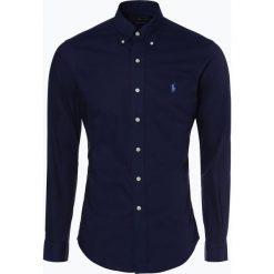 Polo Ralph Lauren - Koszula męska – Slim Fit, niebieski. Niebieskie koszule męskie na spinki Polo Ralph Lauren, m, z klasycznym kołnierzykiem. Za 449,95 zł.