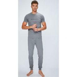 Diesel - Piżama. Czarne piżamy męskie marki Diesel, z bawełny. W wyprzedaży za 279,90 zł.