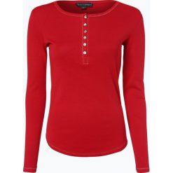 Franco Callegari - Damska koszulka z długim rękawem, czerwony. Zielone t-shirty damskie marki Franco Callegari, z napisami. Za 69,95 zł.