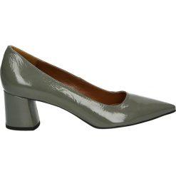 Czółenka - 5970G NAP GRI. Szare buty ślubne damskie Venezia, ze skóry. Za 359,00 zł.