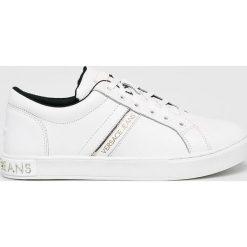 Versace Jeans - Buty. Szare buty sportowe damskie Versace Jeans, z gumy. Za 699,90 zł.
