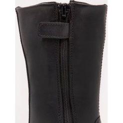 Naturino MOSA  Śniegowce nero. Czarne buty zimowe damskie Naturino, z materiału. W wyprzedaży za 323,95 zł.