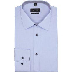 Koszula bexley 2464 długi rękaw slim fit niebieski. Niebieskie koszule męskie slim Recman, m, z długim rękawem. Za 149,00 zł.