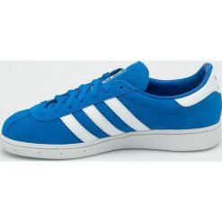 Adidas Originals - Buty Munchen. Szare buty sportowe damskie adidas Originals, z materiału. W wyprzedaży za 329,90 zł.
