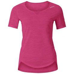 Bluzki sportowe damskie: Odlo Koszulka damska Shirt s/s crew neck Revolution TW Light różowa r. XS