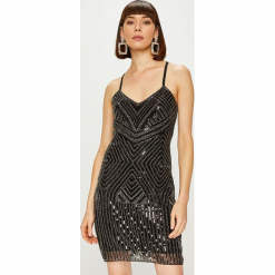 Answear - Sukienka. Czarne sukienki balowe marki Reserved. Za 269,90 zł.