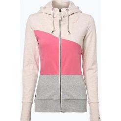Bluzy damskie: Ragwear - Damska bluza rozpinana – Damiena, różowy