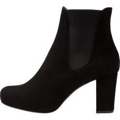 Unisa NIRMA Ankle boot black. Czarne botki damskie skórzane marki Unisa. Za 589,00 zł.