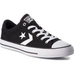 Trampki CONVERSE - Star Player Ox 161595C Black/White/White. Szare trampki męskie marki Converse, z materiału. W wyprzedaży za 209,00 zł.