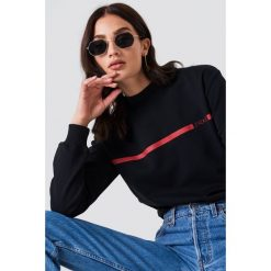 Bluzy rozpinane damskie: NA-KD Trend Bluza J'adore - Black