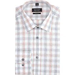 Koszula versone 2756 długi rękaw slim fit pomarańczowy. Brązowe koszule męskie na spinki Recman, m, z długim rękawem. Za 149,00 zł.
