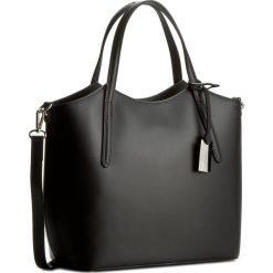 Torebka CREOLE - K10318  Czarny. Czarne torebki klasyczne damskie Creole, ze skóry. W wyprzedaży za 229,00 zł.