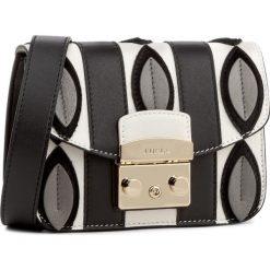 Torebka FURLA - Metropolis 908158 B BML6 PSD Onyx/Petalo. Czarne torebki klasyczne damskie Furla. W wyprzedaży za 909,00 zł.