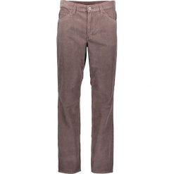 """Rurki męskie: Spodnie sztruksowe """"Oklahoma"""" w kolorze szarobrązowym"""