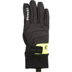 Rękawiczki męskie: Roeckl Sports REBELVA Rękawiczki pięciopalcowe schwarz/gelb