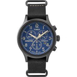 Timex - Zegarek TW4B04200. Czarne zegarki męskie marki Fossil, szklane. W wyprzedaży za 359,90 zł.