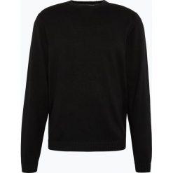 Finshley & Harding - Sweter męski – Pima-Cotton/Kaszmir, czarny. Czarne swetry klasyczne męskie marki Finshley & Harding, w kratkę. Za 229,95 zł.