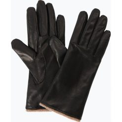 Melkonian - Rękawiczki damskie ze skóry, czarny. Czarne rękawiczki damskie Melkonian, ze skóry. Za 179,95 zł.